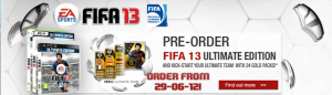 FIFA 13 Ultimate Edition  venda (PC)!